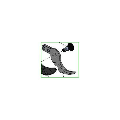 Crochet lixion pour s cateur professionnel lectrique for Taille haie voisin obligation